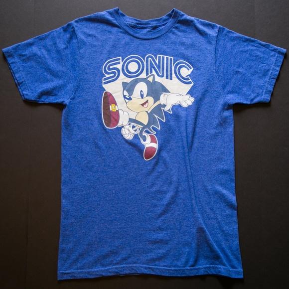 Sega Shirts Vintage Sonic The Hedgehog Tee Poshmark